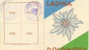 Zent Ladina Dolomites, na union pieda via da n'Ampez.