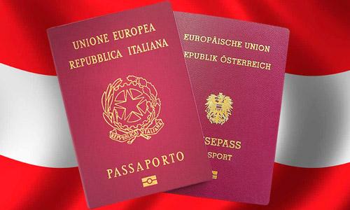 Passaport austriach per todesc y ladins de Sudtirol podessa deventé realté